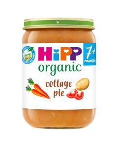 HiPP Organic Cottage Pie Baby Food Jar 7+ Months (6 x 190g)