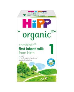 HiPP Organic 1 First Infant Baby Milk Powder from birth (4 x 800g)