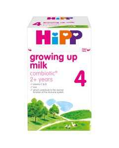 HiPP 4 Growing up Baby Milk Powder from 2 years onwards (4 x 600g)