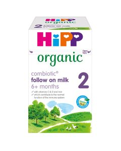 HiPP Organic 2 Follow on Baby Milk Powder from 6 months (4 x 800g)