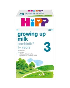 HiPP 3 Growing up Baby Milk Powder from 1 year onwards (4 x 600g)