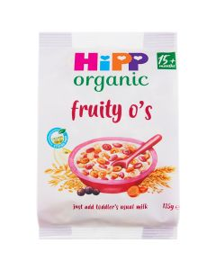 HiPP Organic Fruity O's Baby Cereal 15+ Months (5x135g)