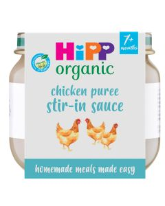 HiPP Organic Little Mealmakers Chicken Puree  7+ Months (6 x 80g)