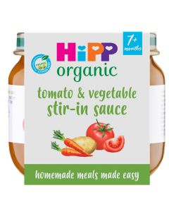 HiPP Organic Little Mealmakers Tomato & Vegetable Sauce 7+ Months (6 x 80g)
