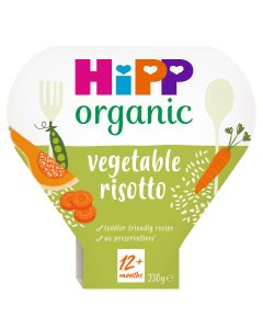 HiPP Organic Vegetable Risotto Toddler Tray Meal 1-3 Years (5 x 230g)